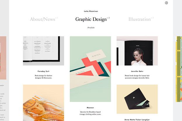 minimal website lotta