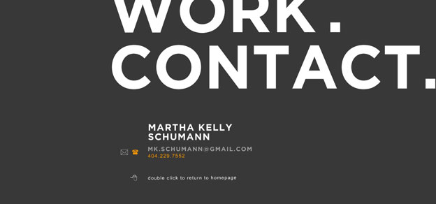 minimal website martha