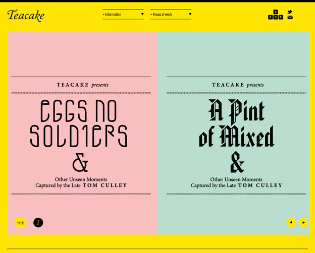minimalist website
