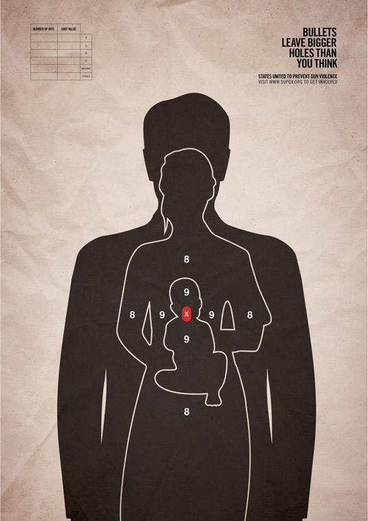 creative-print-ads-gun-violence