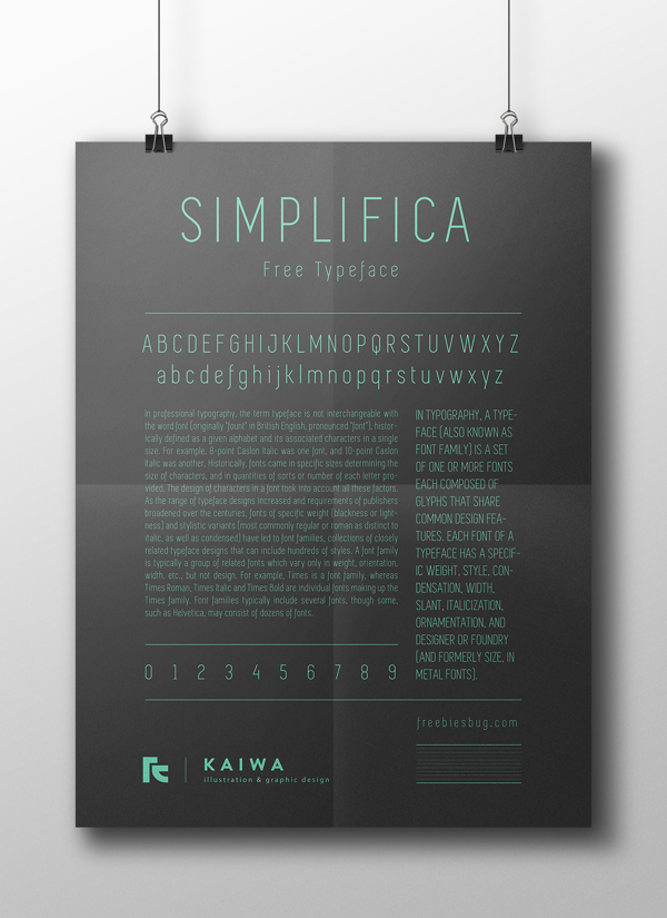 free-font-simplifica