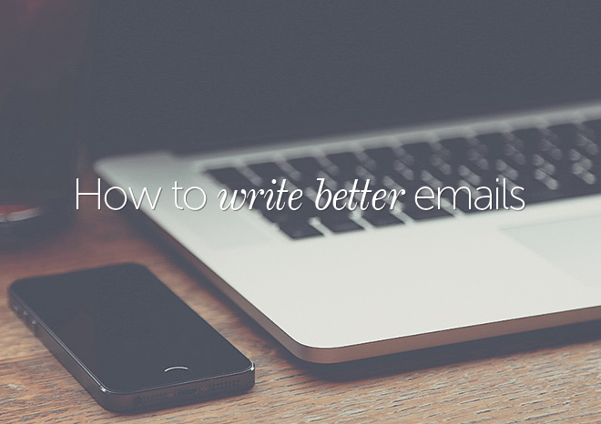 how to write better emails to clients
