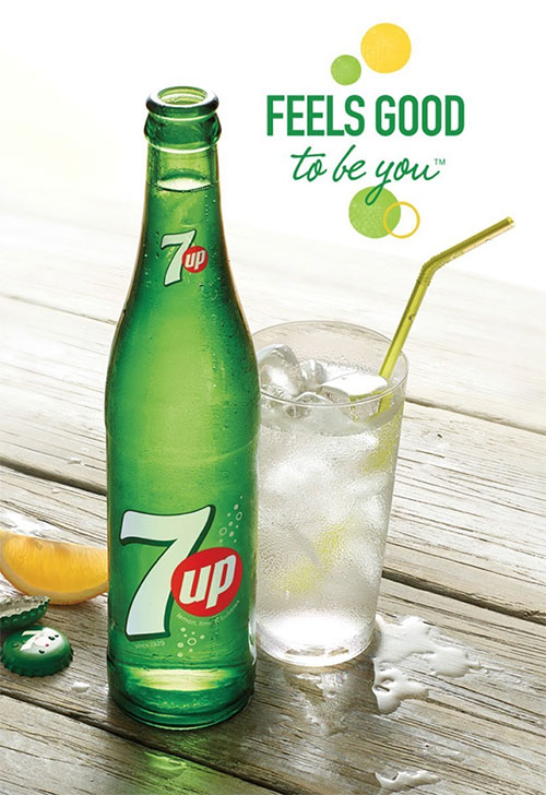 New 7up slogan - 2014