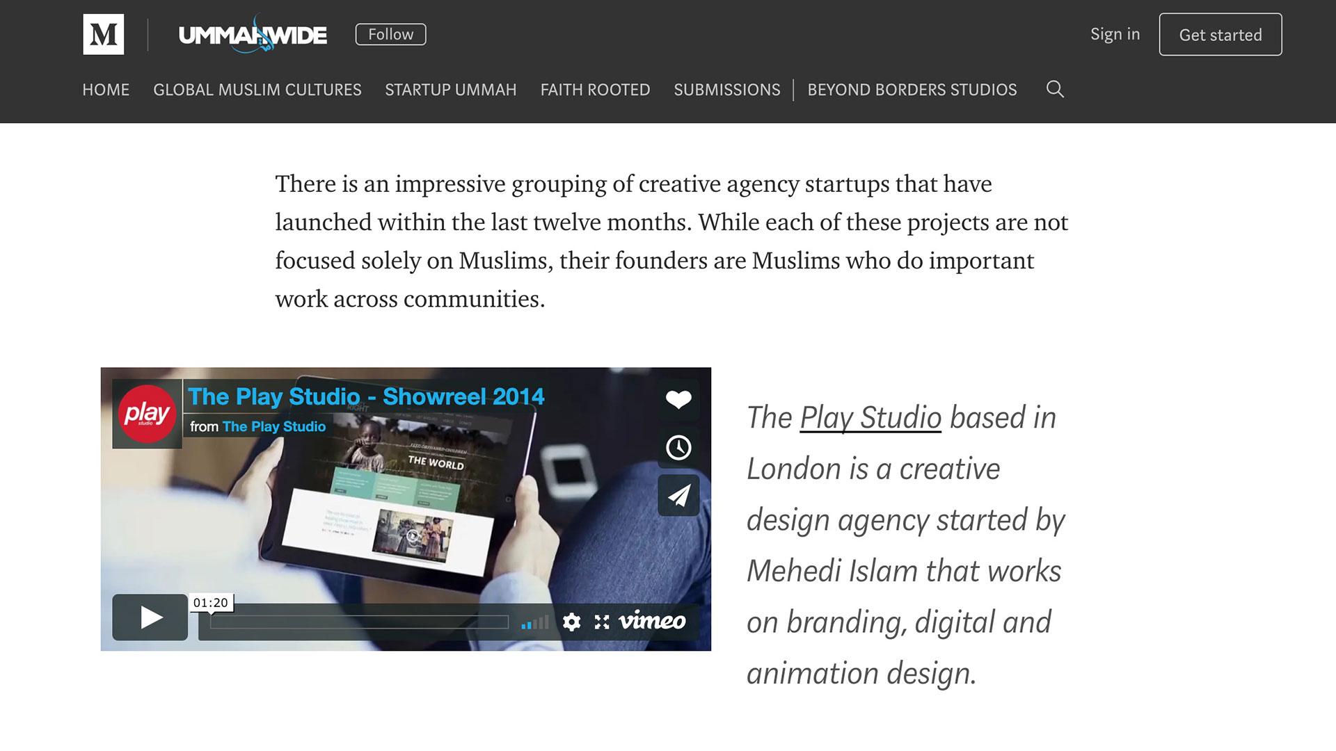 top muslim startup