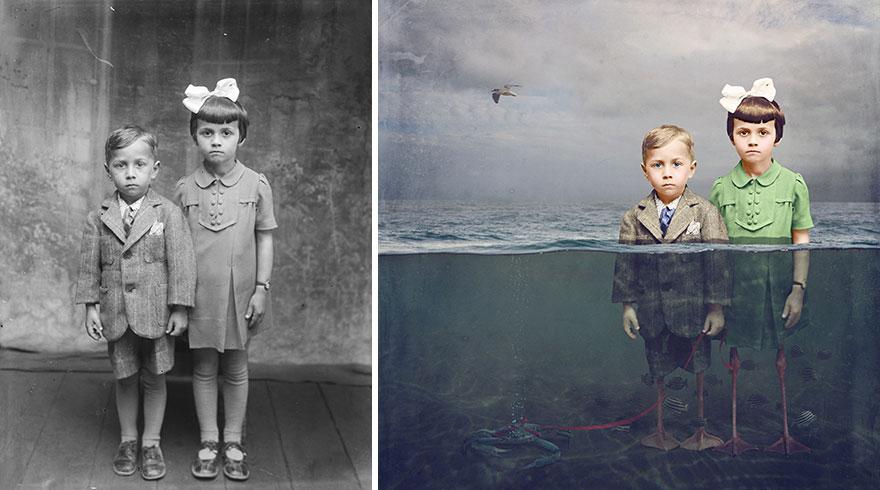 old-photos-recoloured-underwater