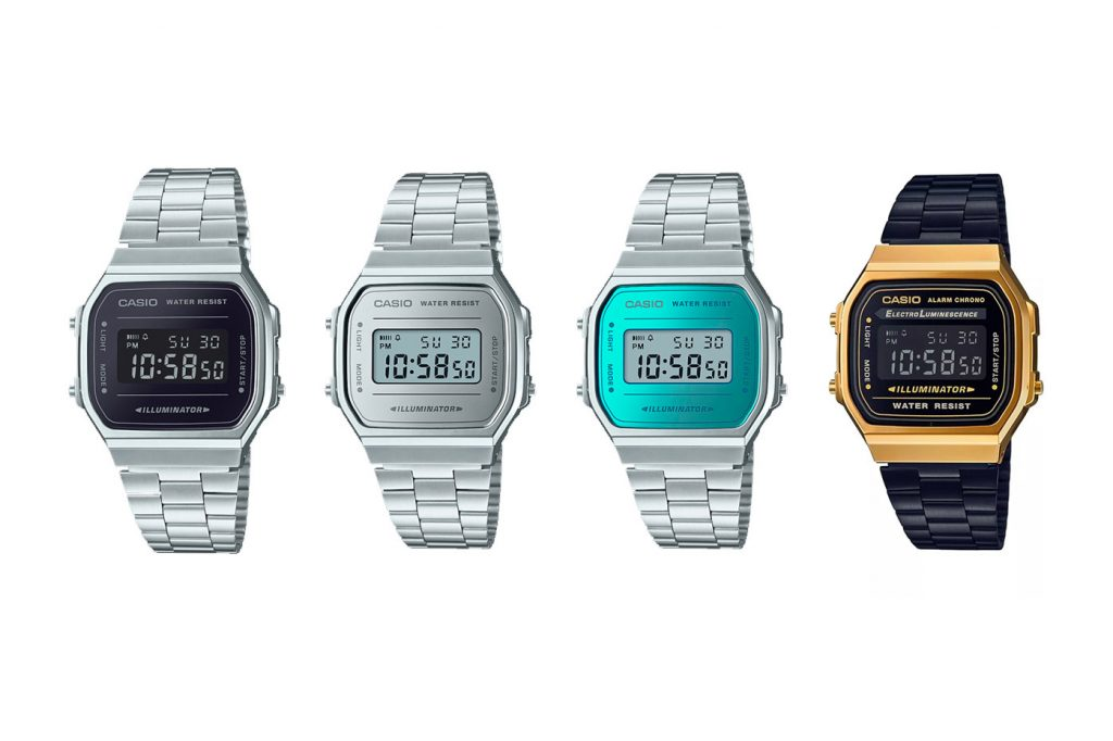 retro casio watch